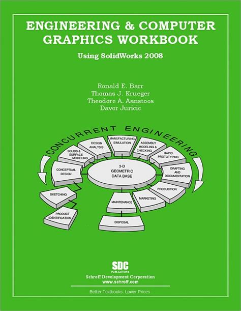 engineering graphics with solidworks 2018 and books engineering computer graphics workbook using solidworks