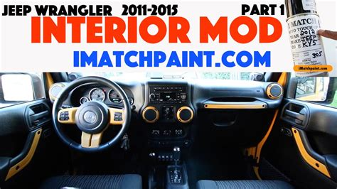 Jeep Tj Interior Mods by Jeep Wrangler Dozer Interior Mod Part 1 Imatchpaint