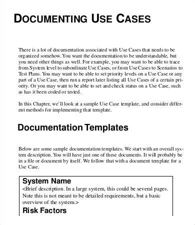 use case template from bruegge and dutoits object oriented