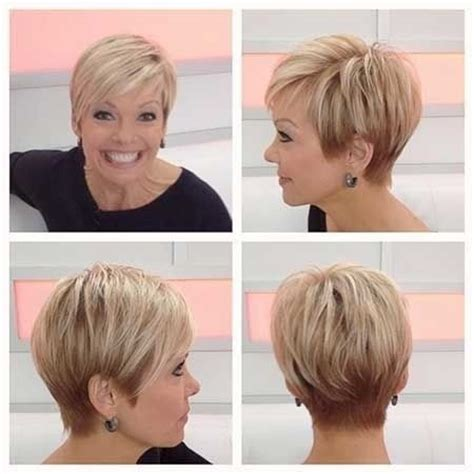 short hairstyles from the back for women over 50 35 tagli di capelli per over 50 fotogallery