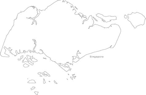 singapore flag and map free coloring pages