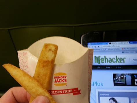 hot chips kilojoules taste test are hungry jack s thick cut fries the best