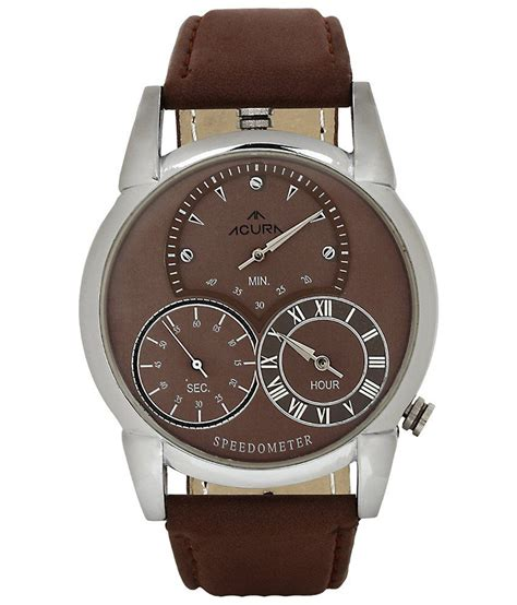 acura watches acura brown leather wrist price in india buy acura