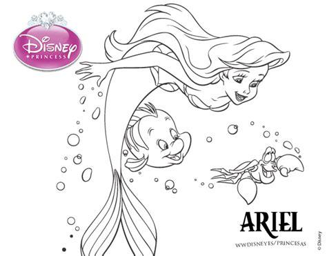 imagenes blanco y negro frozen dibujo de la sirenita ariel flounder y sebasti 225 n para