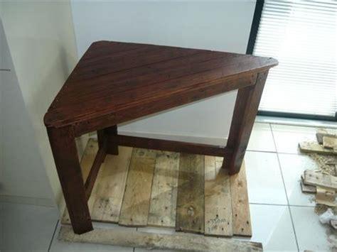 diy pallet corner desk and pallet table pallets designs