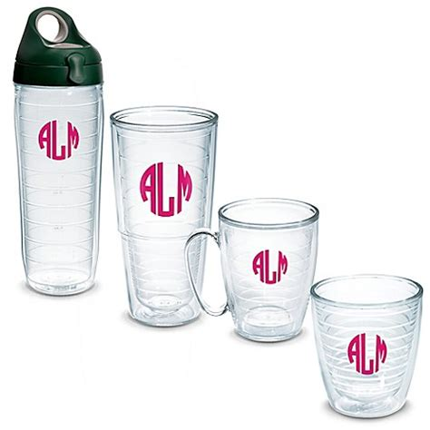 bed bath and beyond tumblers tervis 174 personalized clear tumbler collection bed bath
