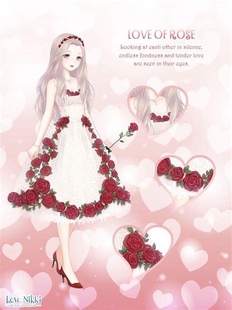 rose romance love nikki dress  queen wiki fandom