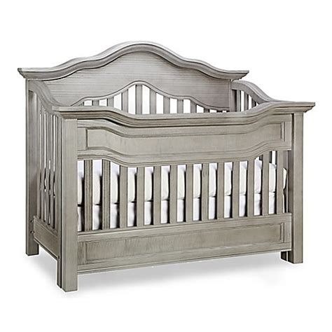 Baby Appleseed Millbury Crib Baby Appleseed 174 Millbury 4 In 1 Convertible Crib In Morning Mist Buybuy Baby
