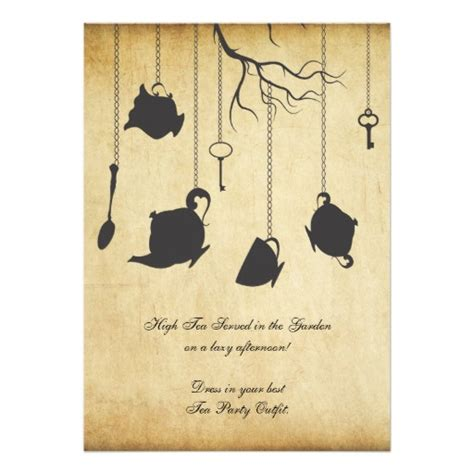 Unbirthday Card Template by In Unbirthday Birthday Tea