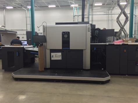 Printer Hp Indigo 10000 allied transforms business with hp digital printing technology