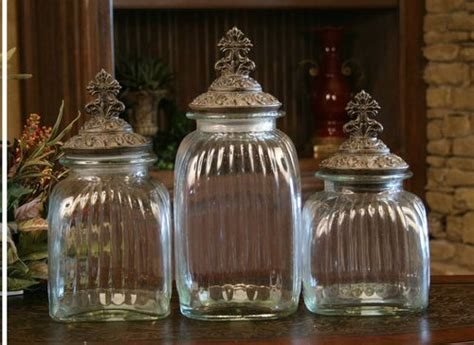 drake kitchen canisters drake design quot cross quot clear canister set of 3 home