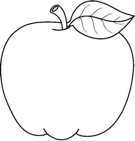 imagenes para colorear manzana dibujos de manzanas para colorear las manzanas