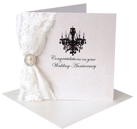 Wedding Anniversary Congratulations Cards by Lace Congratulations Card By Made With Designs