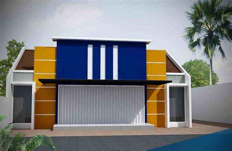 desain rumah toko contoh desain ruko rumah toko minimalis modern dan terbaru