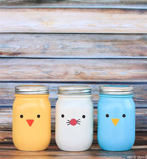 crafts with jars easter jars craft