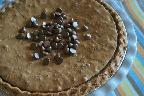 chocolate chip cookie pie for pi day love from the oven larissa another day chocolate chip cookie pie