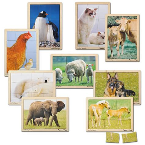 Baby Animal Puzzle and baby animal puzzles