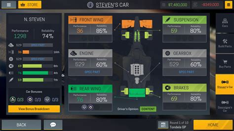 manager mobile motorsport manager mobile 2 android apps on play
