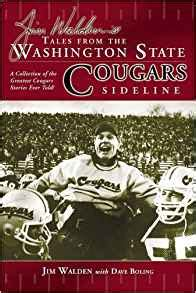 jim walden book tales from the washington state cougars sideline jim