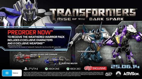Transformer Rise Of The Spark transformers rise of the spark release date set pre