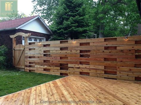 wrap around deck with horizontal fence amp pergoal