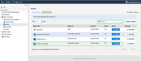 demo templates dx base demo templates