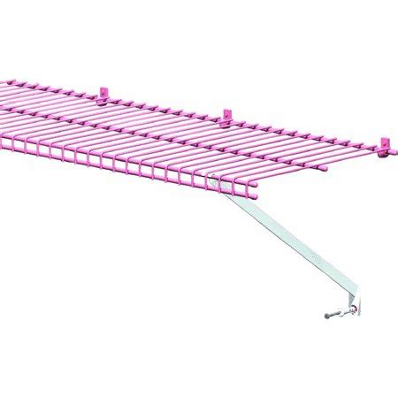 closetmaid 12 in white wire shelving support bracket 2
