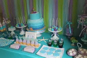 the little mermaid birthday party ideas photo 1 of 30