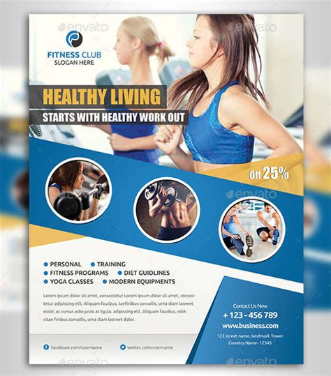 63 Fitness Flyer Exles Psd Ai Eps Word Formats Free Premium Templates Fitness Flyer Template