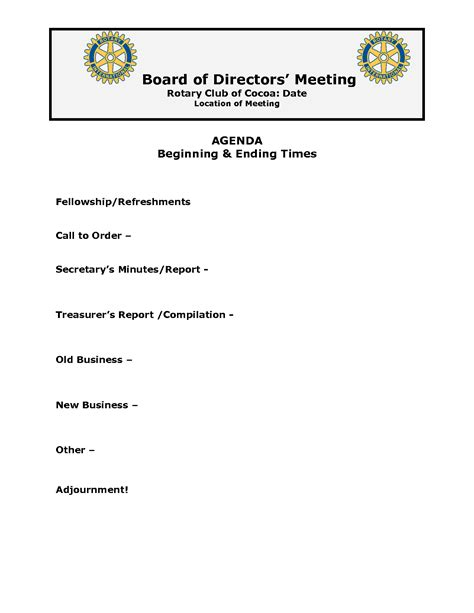best photos of exle of board meeting agenda sle