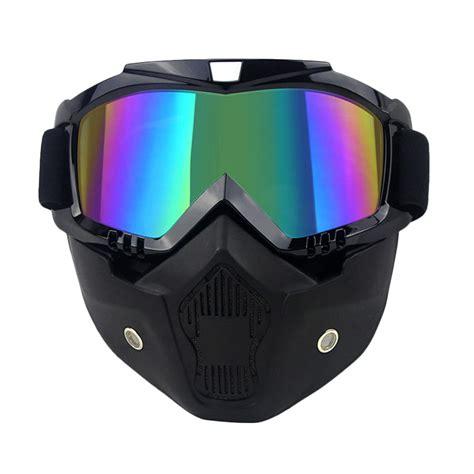 Jual Goggle Otg jual biohazard otg iridescent lens goggle mask black