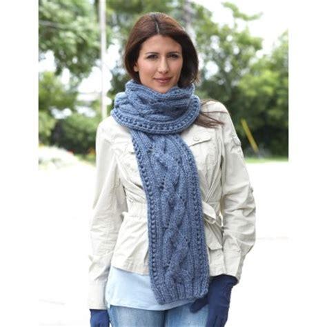 zigzag lace scarf pattern bernat zig zag scarf lace knit pattern knitting bee