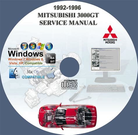on board diagnostic system 1996 mitsubishi 3000gt parking system mitsubishi 3000gt 1992 1996 service repair manual on cd 92 93 94 95 96 www