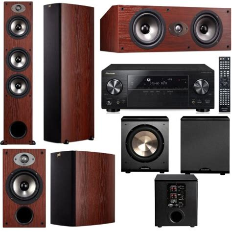 Polk Home Theater by Home Audio Polk Audio Tsx440t 5 1 Home Theater System