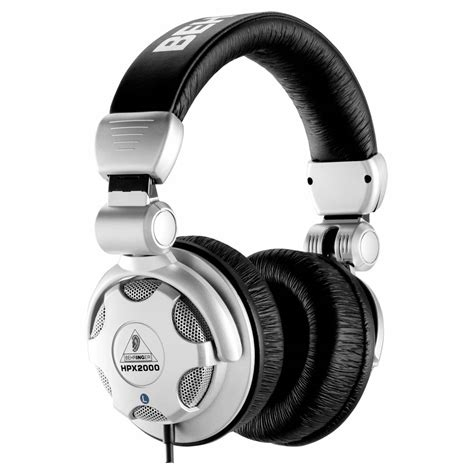 Headphone Behringer Behringer Hpx2000 Studio Headphones Monitoring From Inta