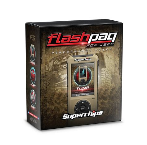 jeep flashpaq superchips 3874 flashpaq f5 programmer for 98 14 jeep
