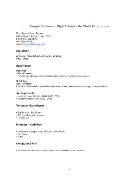 resume volunteer experience resume badak