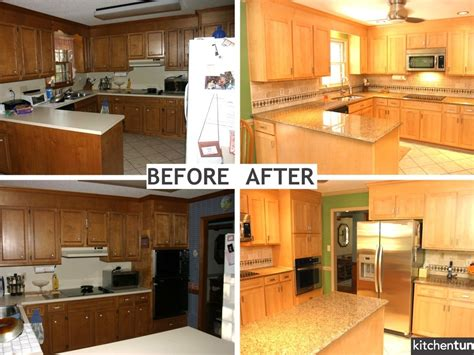 painted kitchen cabinets before and after photos kitchen