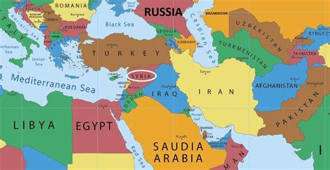syria middle east map the american strategy in syria iakovos alhadeff