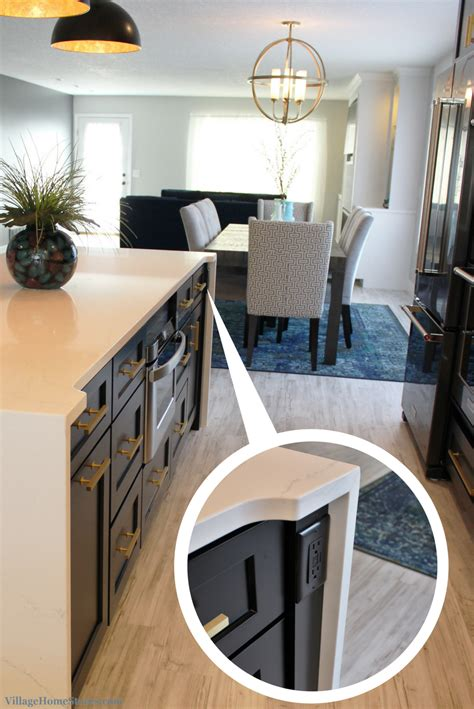 kitchen island outlet ideas black white and gold kitchen remodel village home stores