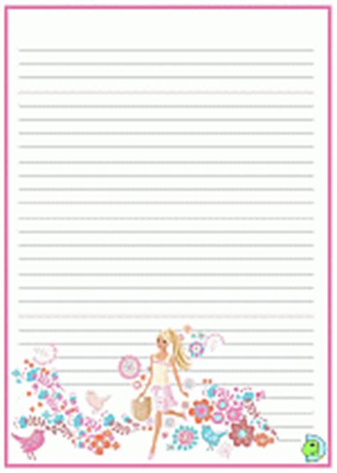 princess writing paper handwriting paper writing paper for dinokids org