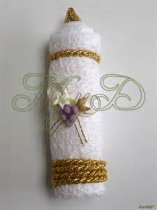 recuerdos en bombon primera comunion recuerdo primera comuni 243 n vela de toalla en caja 10 piezas