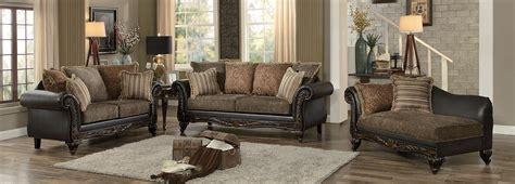 brown fabric sofa set homelegance thibodaux sofa set brown fabric dark brown