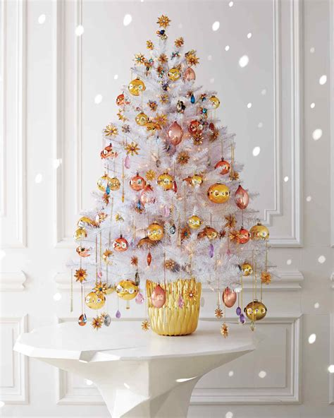 martha stewart white christmas ornaments enchanted forest tree ideas by quot martha stewart living quot editors martha stewart
