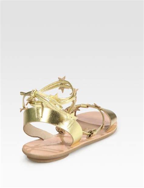 loeffler randall starla sandal loeffler randall starla embellished metallic leather