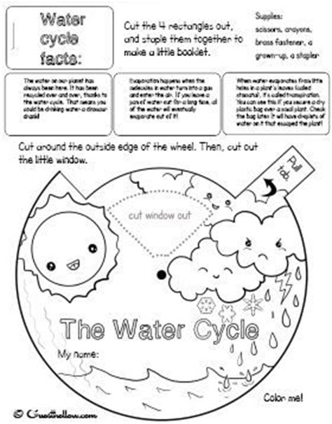 montessori worksheets for toddlers free water cycle water cycle worksheet for preschoolers printable water
