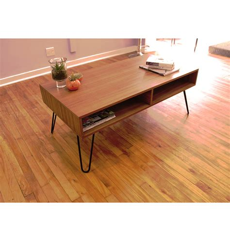 hairpin coffee table retro hairpin coffee table by kurve designs