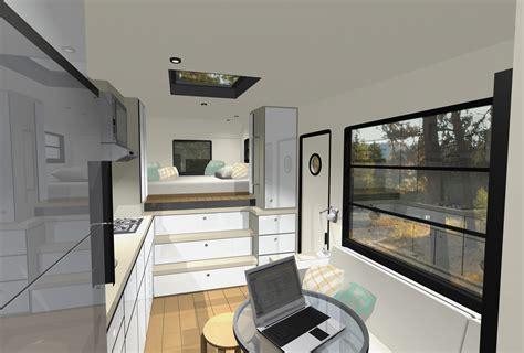 custom truck rv modern motorhome living or a tiny house