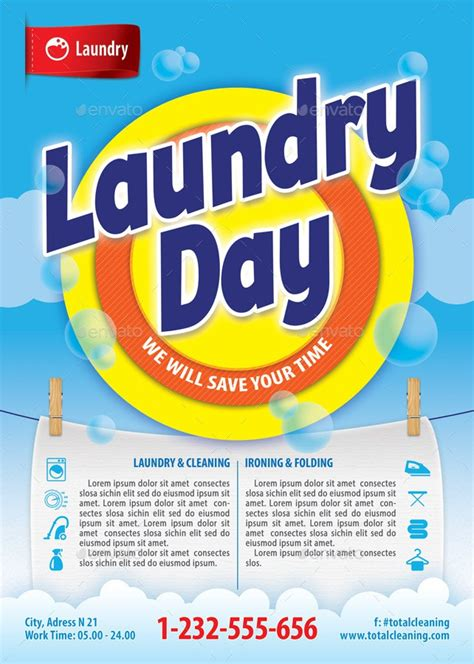 Laundry Flyers Templates Yourweek De7f8deca25e C Flyer Template