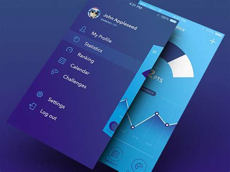 the best resume templates 30 brilliant mobile navigation menu design concepts web